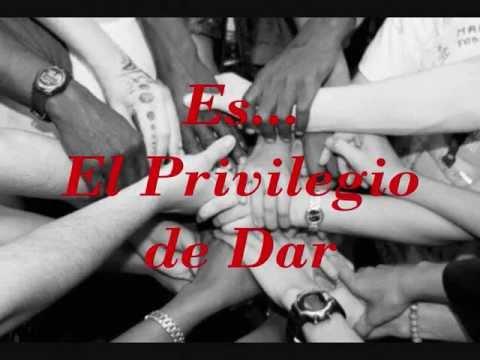 cancion el privilegio de dar ednita nazario