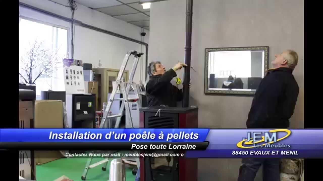 Installation Poele A Pellets Supra Youtube