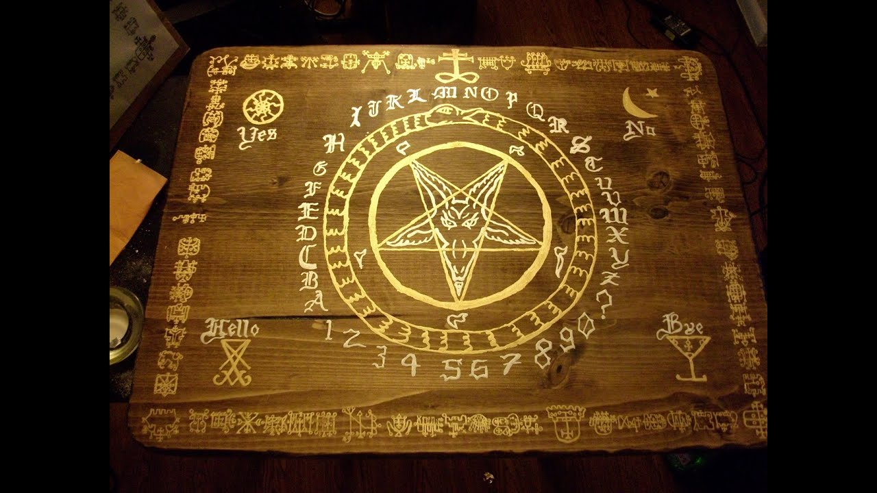 How to make a talking demon board youtube how to make a talking demon board buycottarizona Gallery
