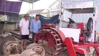 (VTC14)_Nông dân xứ Nghệ tự chế máy cày đa năng