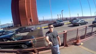 Go Pro San Francisco Bike Ride - Golden Gate Bridge