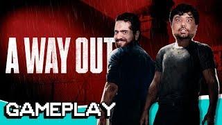 Vídeo - Joguei Way Out Pela Primeira Vez