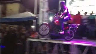 Sizzla Bike Show Had Motorcycle Jumping From Off The