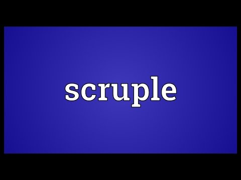 Header of scruple