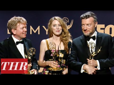 Emmy Winners For 'Black Mirror: Bandersnatch' Full Press Room Speech | THR