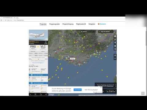Flugradar24 - Kostenloses Flugradar Von Flightradar24 Für Die Flugverfolgung