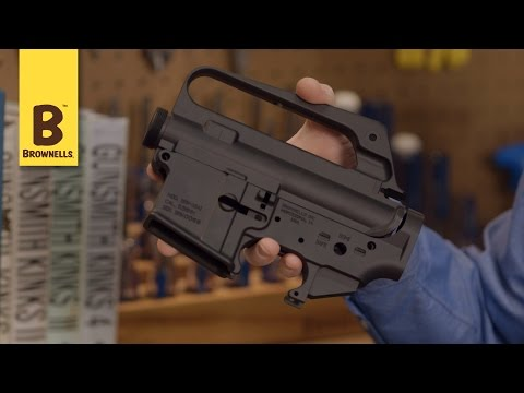 New Products Brownells AR-15 A1 Upper and Lower Receiver