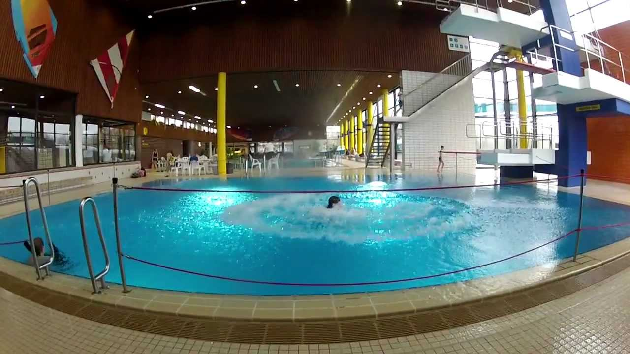 Spashdiving im Hallenbad Greven - YouTube