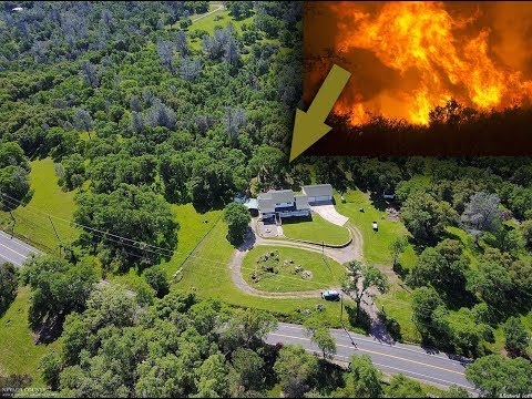 Loma Rica, Yuba County, California, wildfires near beautiful forests and villas