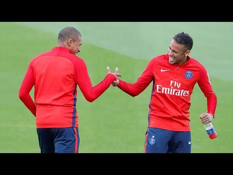 Momentos Divertidos En Entrenamientos ● Mbappe, Salah, Ronaldo, Neymar