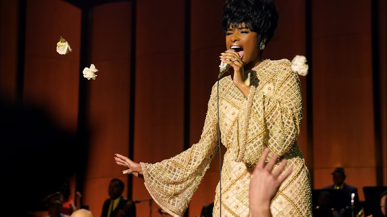 Jennifer Hudson heads to Detroit to watch 'Respect' with Aretha ...