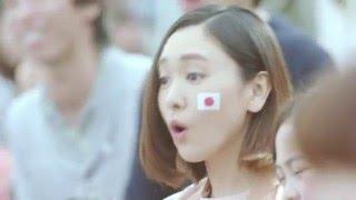 明治食品代言人新垣結衣應援2020 年日本東京奧運(Olympic Games)和身...