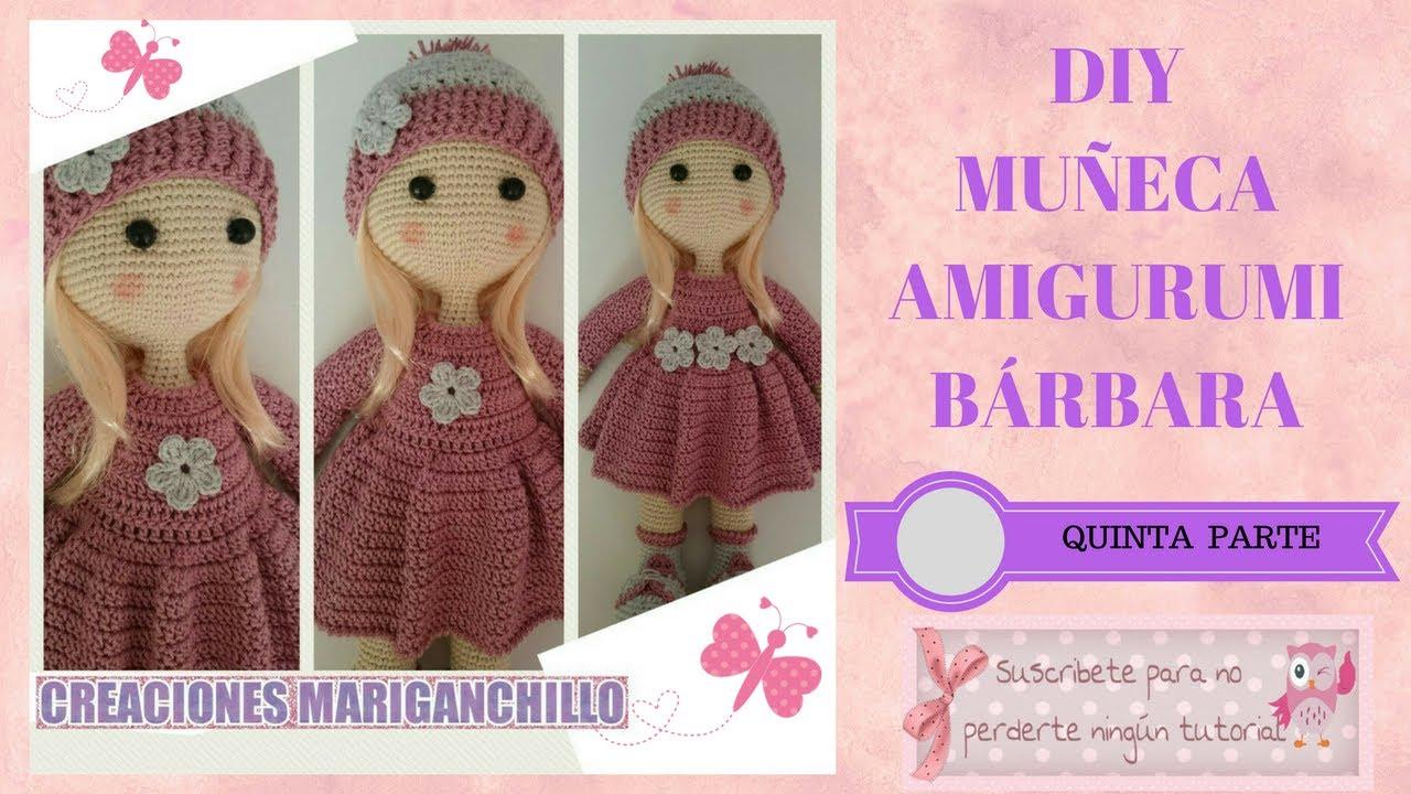 Diy Muñeca Amigurumi Parte Vestido Barbaraquinta el fYb7Iyv6g