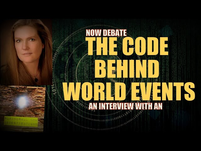 The Spiritual code behind world events, An interview with An