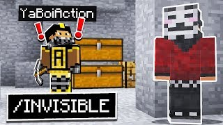 TROLLING YOUTUBERS with ADMIN COMMANDS in Minecraft Pocket Edition!
