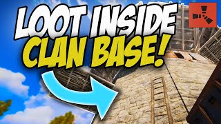 FINDING INSANE LEFT-OVER LOOT inside HUGE CLAN BASE! - Rust Solo #2