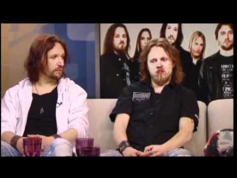 Sonata Arctica: Tony and Henkka YLE interview