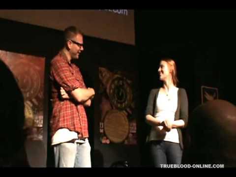 Michael McMillian, Jim Parrack and Debra and Woll perform at iOWest  TrueBloodOnline.com