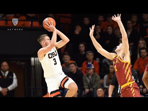Oregon State Beavers - Beavers top Iowa State 80-74 in Big 12, Pac 12 showdown!!