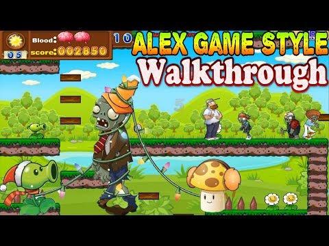 Crazy Dave Plants Adventure - Complete Walkthrough 1080p 60fps (Zombie Games)