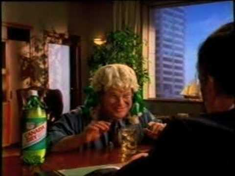 """Canada Dry Ginger Ale """"Less Sweet"""" (1992)"""