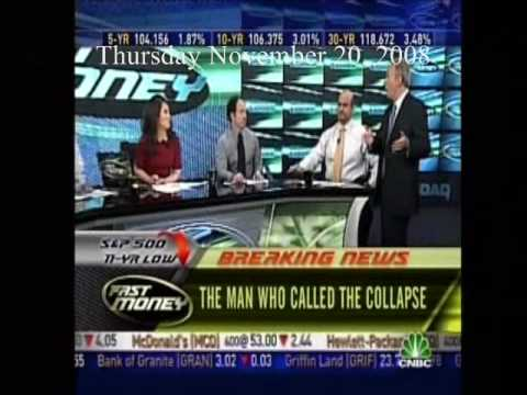 """11/20/2008 Peter Schiff On Fast Money - """"The Man Who Called The Collapse"""""""