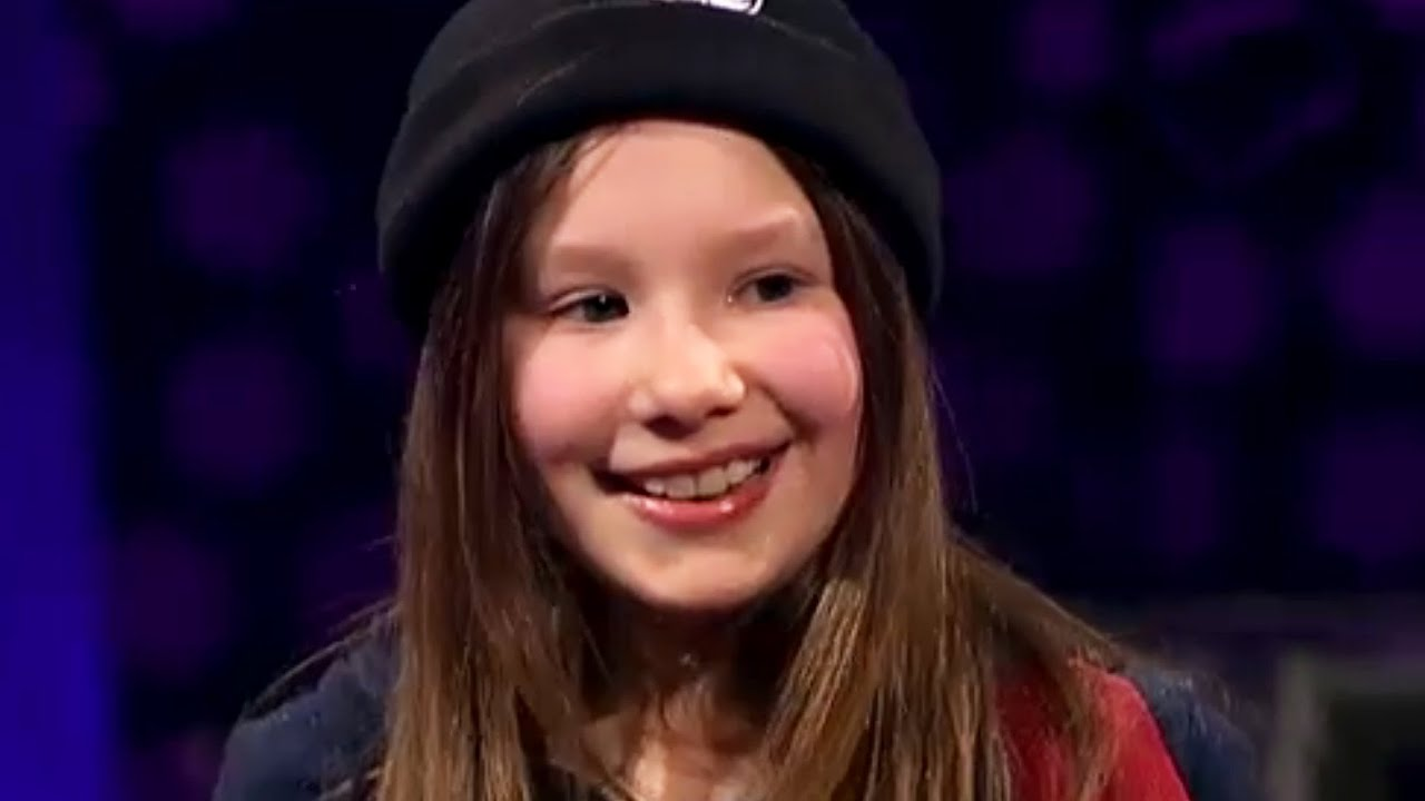 Incredible Nine Year Old Singer/Songwriter, Ashley Tubridy ...