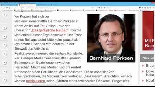NachDenkSeiten: Jens Berger erklärt die Lügenpresse! Das große Staunen.