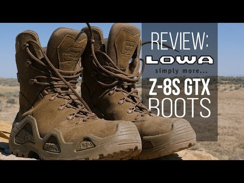 Lowa Z-8S GTX Boot Review: Versatile Leather Boots for Hiking, Hunting and More!