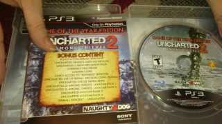 Nostalgamer Unboxes Uncharted 2 Two Among Thieves On Sony Playstation 3 Three US NTSC System Version