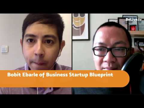 FBP 131: Bobit Ebarle of Business Startup Blueprint - The 5-Step Framework To Start A Business