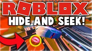 Roblox Jailbreak - HIDE AND SEEK! (THIS IS IMPOSSIBLE) - Round 2