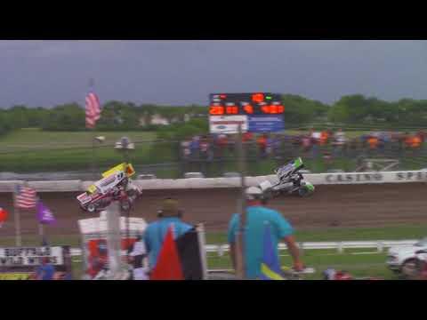 Lee Grosz takes a ride - Casino Speedway - 6/24/18