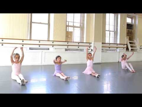 The Joffrey Ballet School NYC Pre Ballet 2 Class feature, from The Children's Program