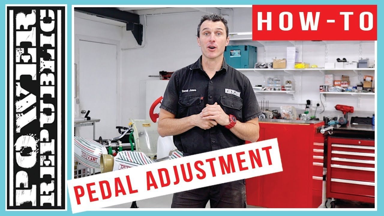 GO KART HOW TO: Adjust The Pedals on Your Tony Kart 401R & 801R - POWER  REPUBLIC