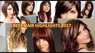 Best Hair Highlights for 2018 - Hair Highlight Ideas | hair highlights for black hair