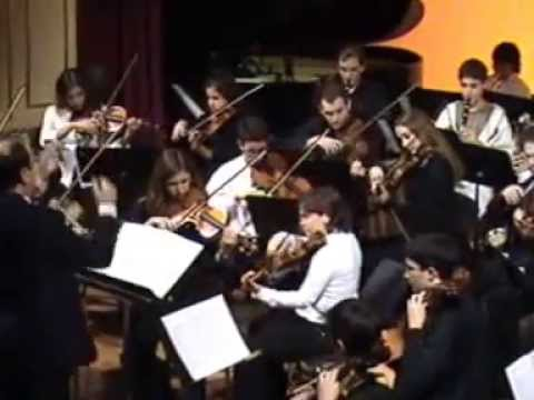 Concert violí.Música per els reials focs d'artifici.Sinfonia nº41 Jupiter (1r mov.Allegro vivace)