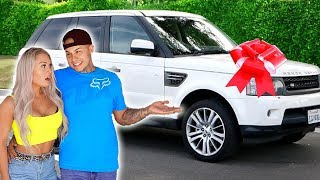SURPRISING MY GIRLFRIEND WITH HER DREAM CAR! **Very Emotional**