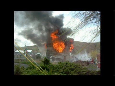 House Fire Controlled Burn Training Exercise Edited - Man VS Junk EP 94