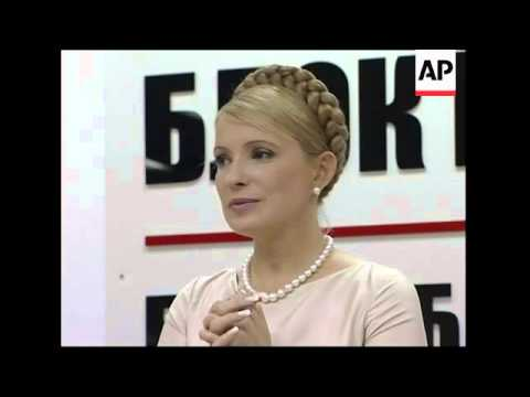 Tymoshenko comments on deal with Yushchenko; reax