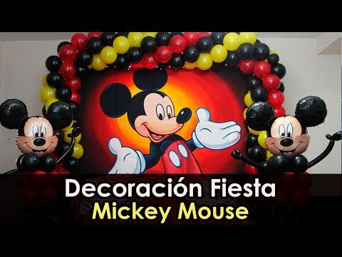 Decoracion Fiesta Mickey Mouse