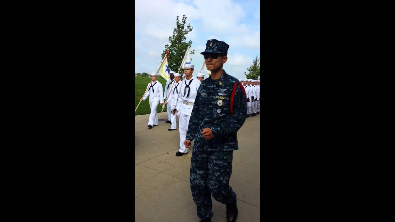 Navy cadence - YouTube