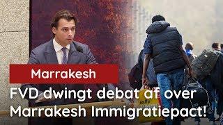 FVD dwingt debat af over omstreden Marrakesh Immigratiepact