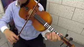 A Tune A Day for viola Book II Lesson XX Scale Study in G