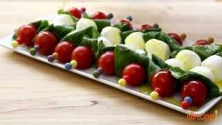 Salad Recipes - How To Make Caprese On A Stick