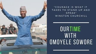 LIVE: Omoyele Sowore On the Couch Let's to talk about tonight! #TakeItBack #Sowore2019