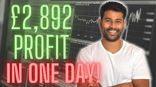 Trading Stocks As A Beginner & How I made £2,892 In One Day! | Snowflake IPO | Trading212 Portfolio