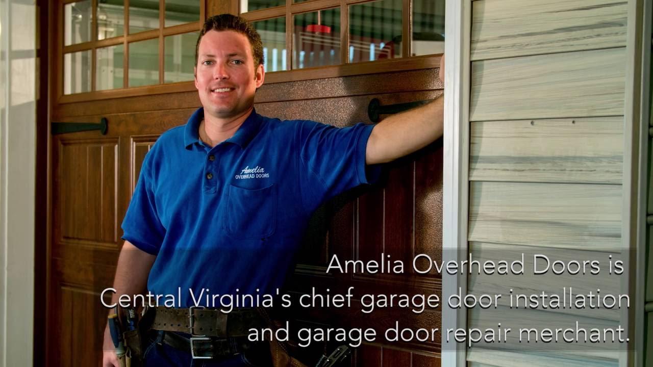 Garage Door Wyndham Glen Allen VA. Amelia Overhead Doors