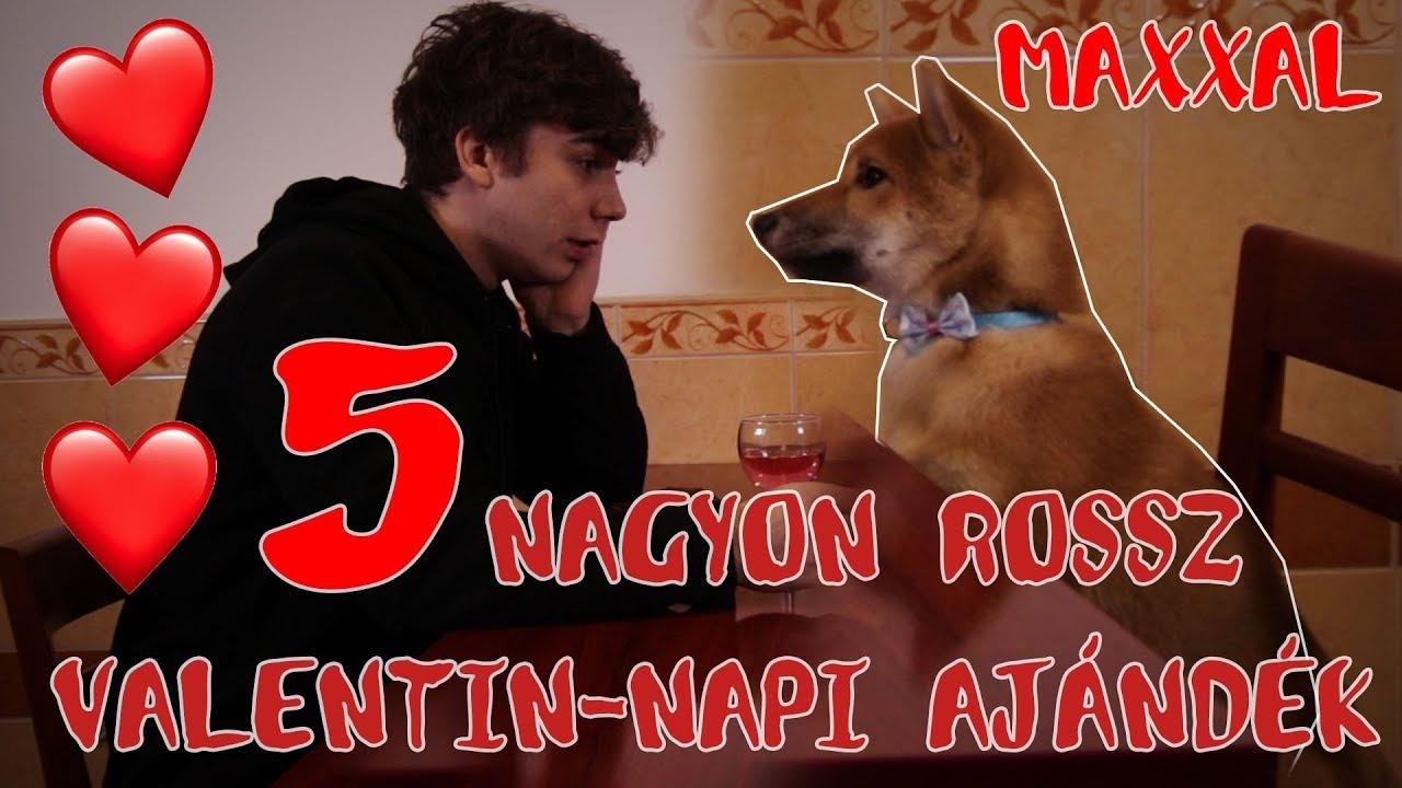 VALENTIN-NAP: 5 LEGROSSZABB AJÁNDÉK! feat. MAX ❤️🐶 #1