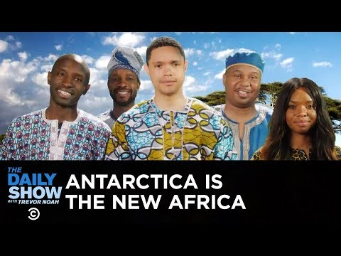 A Message to the Arctic from the People of Africa | The Daily Show